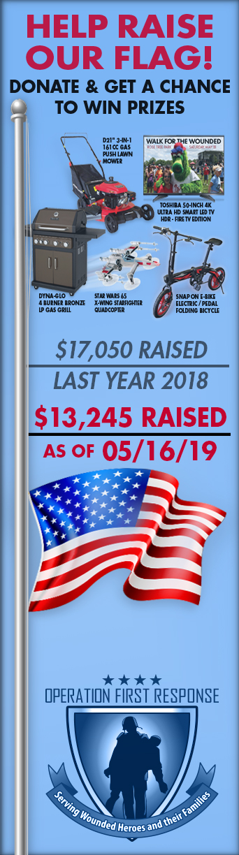 Qyst Walk for the Wounded List of Donor Wall of Honor 2019