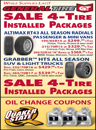 Qyst All Season Tire Sale Oil Change Coupons